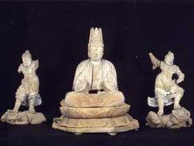 『虚空像菩薩座像』の画像
