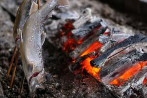 『『いわなと炭火』の画像』の画像