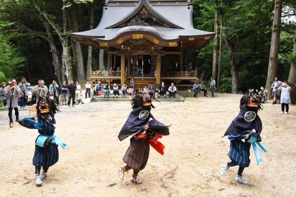 『高田島獅子舞』の画像
